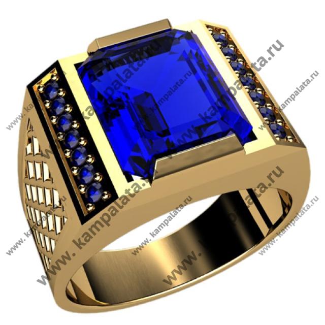 Серебряные кольца с большими камнями крупными драгоценными